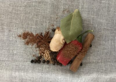 Spice bags & using spices